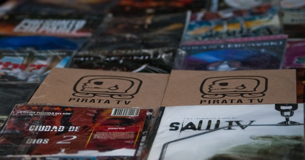 PIRATA TV uses bootleg DVDs to bypass the traditional media channels.</p>