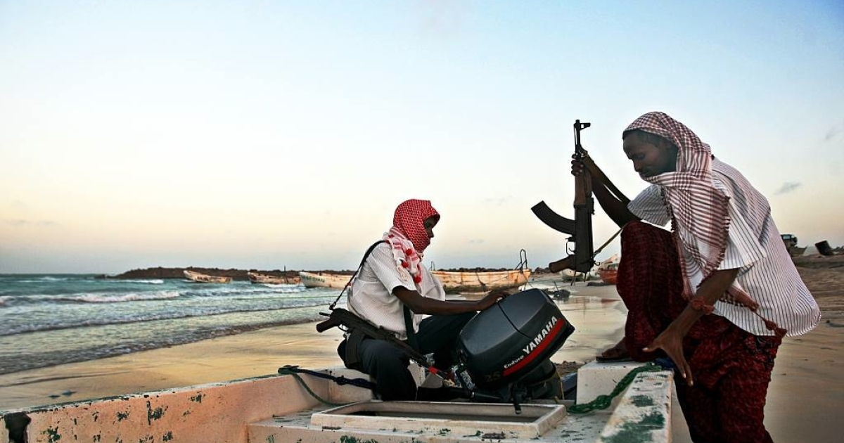 Pirates utilize the hidden coves and lack of marine patrol in the Gulf of Guinea to attack ships headed to and from rich port cities in West Africa. Unlike these Somali pirates seen preparing their boat for attacks, the Gulf of Guinea pirates do not usually hold ships for ransom.</p>