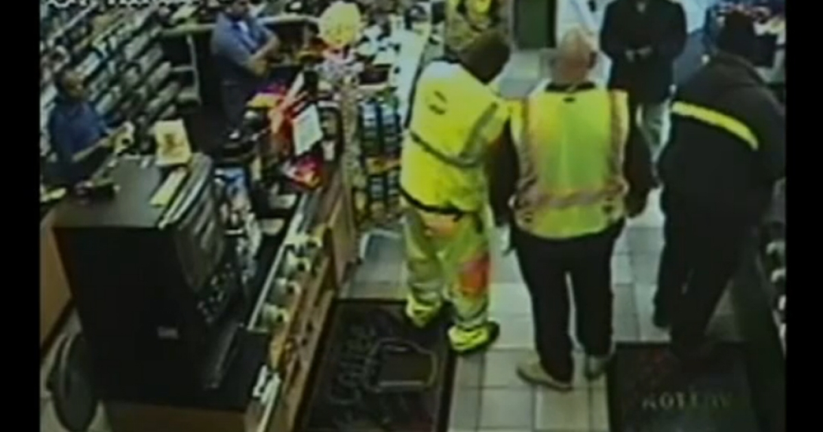 This CCTV video appears to show the other winner of the record $588 million Powerball jackpot.</p>