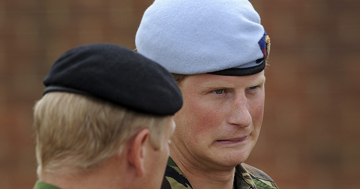 Prince Harry, a helicopter pilot in the British army, is in the town of Gila Bend, Arizona, for the last stage of an advanced weapons training course in the United States.</p>