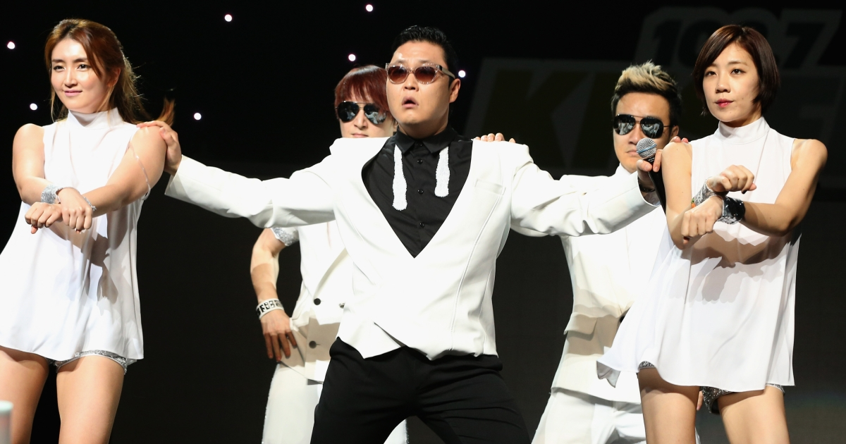 Korean rapper Psy apologized on December 7, 2012 for penning lyrics against the American military during the Iraq War. The rap lyrics encouraged killing Yankees.</p>