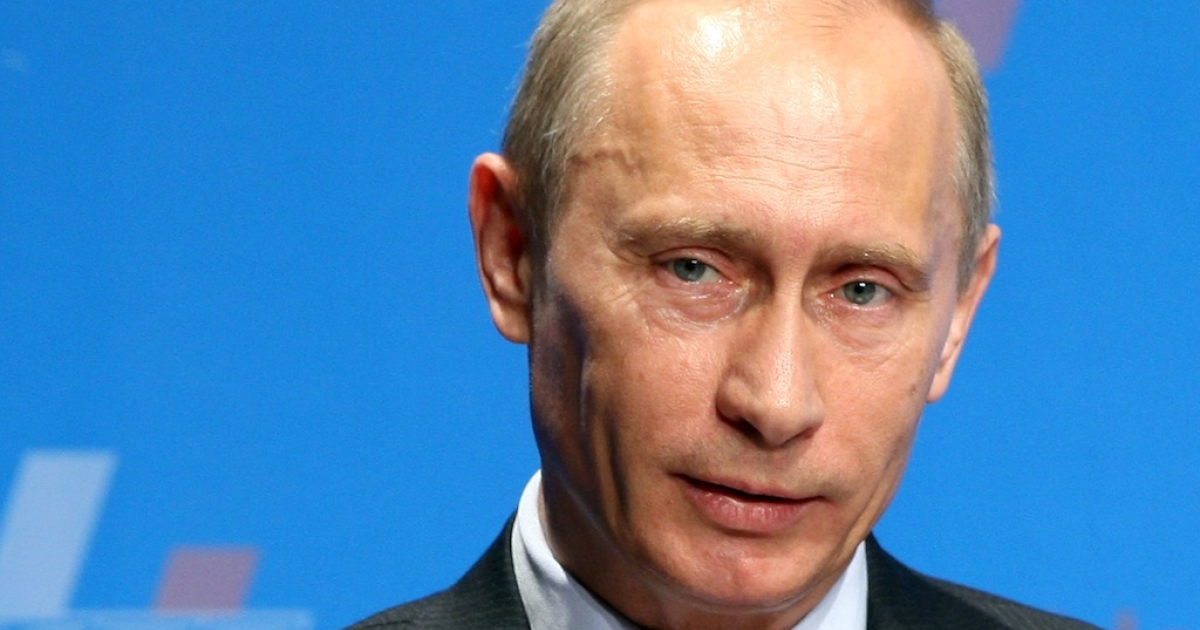 Russian President Vladimir Putin has announced that he is divorcing his wife Lyudmila after 30 years Here, Putin speaks at a Japan-Russia Business Forum at a hotel on May 12, 2009 in Tokyo, Japan.</p>
