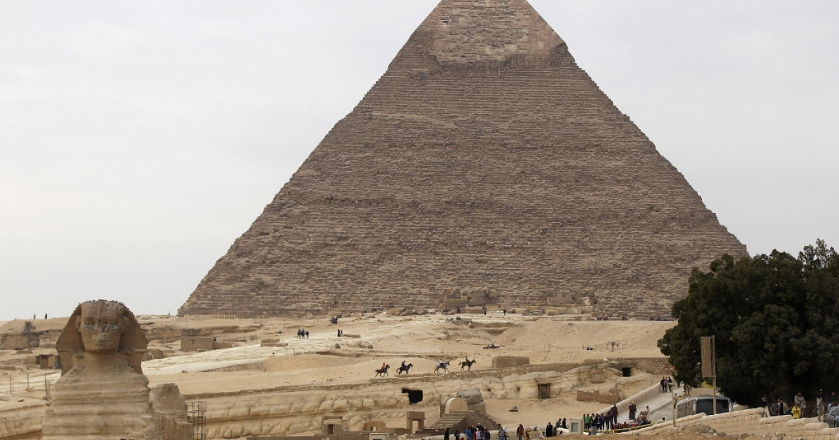 Is Herbalife a pyramid scheme like Dinneen and Ackman claim? A pyramid of Giza on Jan. 24, 2012 in Cairo, Egypt.</p>