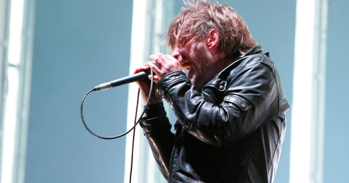 Thom Yorke of Radiohead.</p>