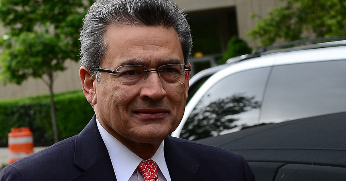 Former Goldman Sachs and Procter &amp; Gamble board member Rajat Gupta arriving at the Manhattan Federal courthouse for the closing arguments of his trial in New York. Gupta was found guilty on four counts of insider trading on June 15, 2012.</p>