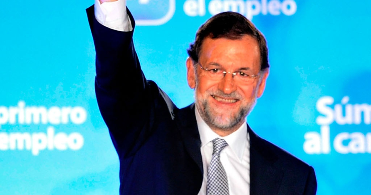 Spain's new Prime Minister Mariano Rajoy was smiling last night.  How long will that smile last, given the awesome scale of Spain's economic crisis?</p>