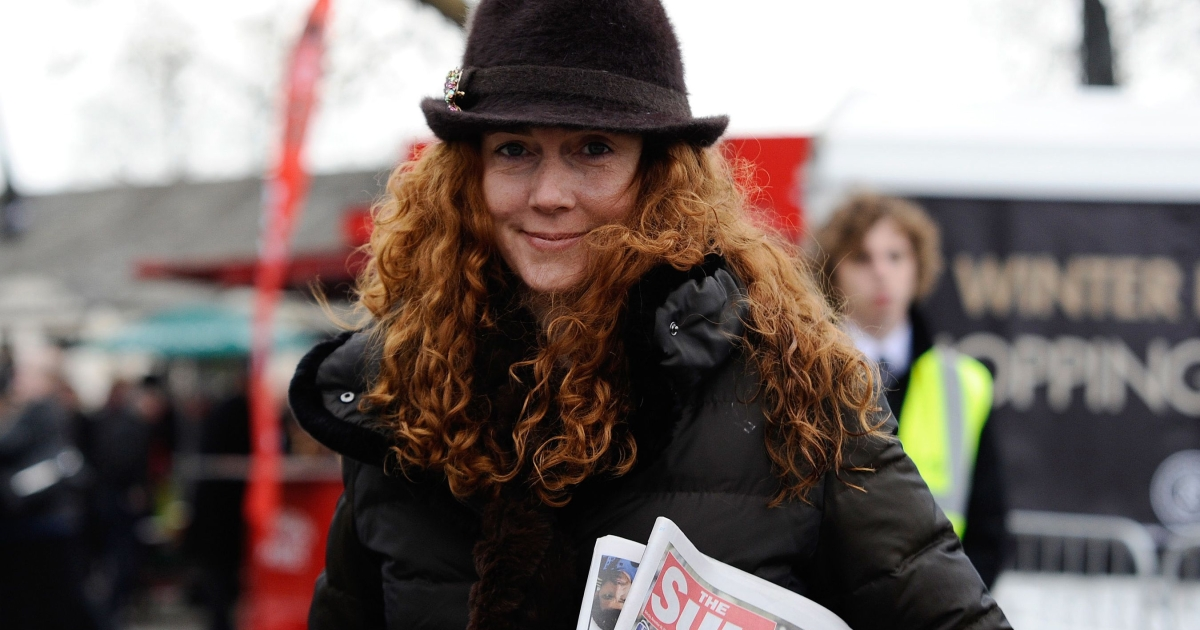 Rebekah Brooks, former chief executive of News International, arrives at Newbury racecourse in November.</p>
