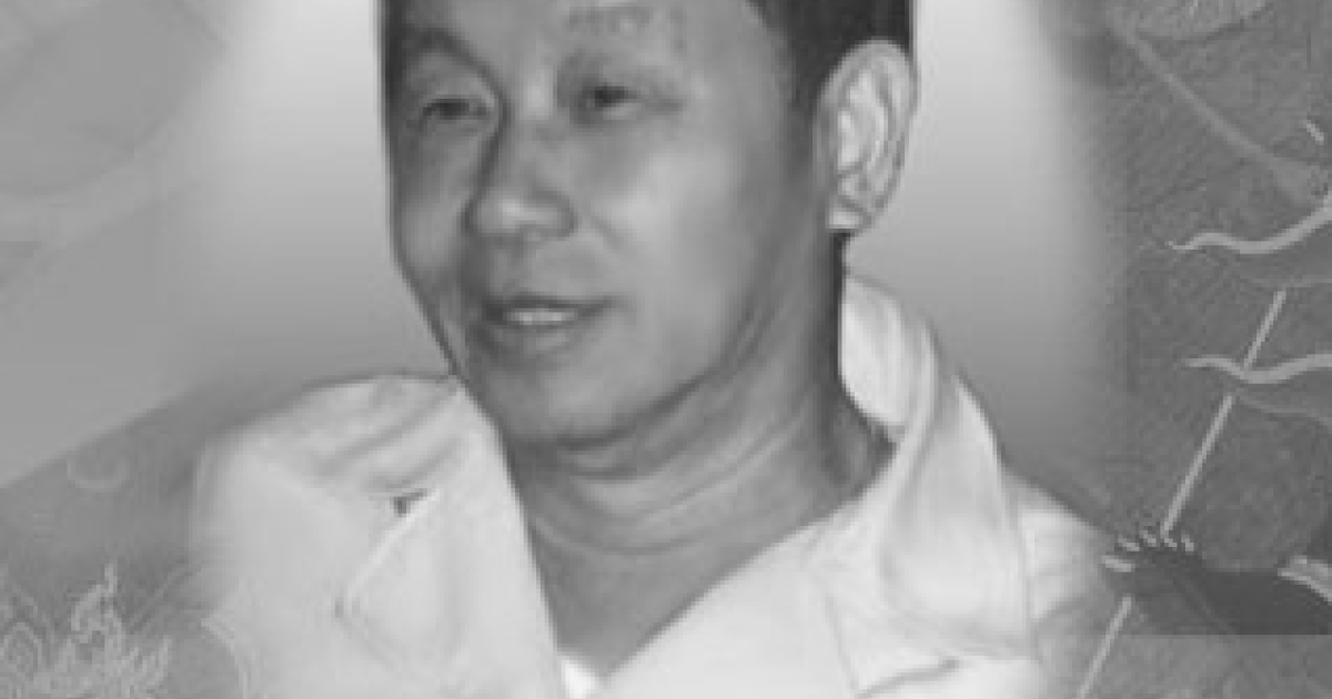 A memorial photo of Red Bull co-founder Chaleo Yoovidhya, among Thailand's wealthiest businessmen, posted to a Thai-language Red Bull Web site. The billionaire passed away in March, 2012, at the age of 81.</p>