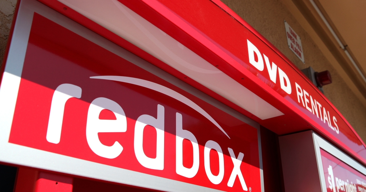 A RedBox video rental kiosk in San Rafael, Calif., on Aug. 14, 2009.</p>