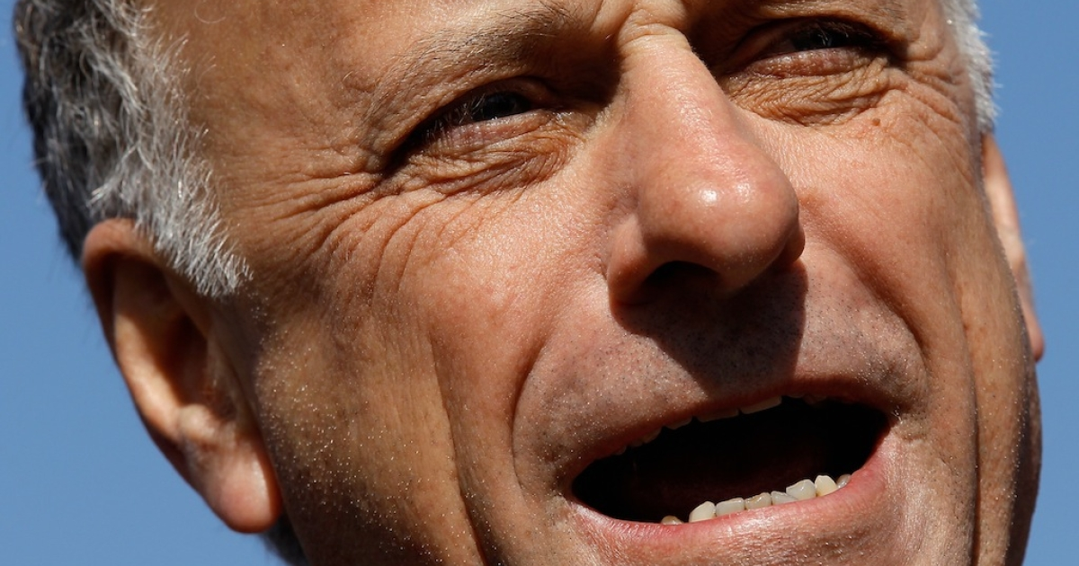 Rep. Steve King speaks at a news conference on the first day of Supreme Court hearing on the constitutionality of the Patient Protection and Affordable Care Act March 26, 2012 in Washington, DC.</p>