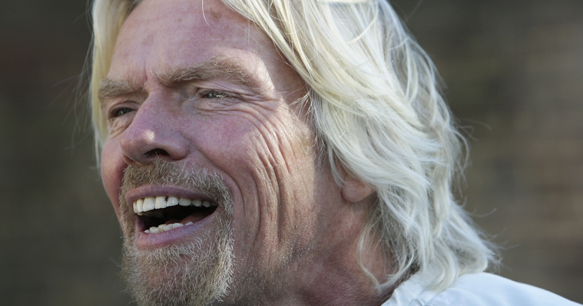 Sir Richard Branson poses to celebrate Virgin Money's Birthday in Australia on July 7, 2011 in Sydney, Australia. Twenty people escaped unhurt from a fire at Branson's luxury home in the Caribbean in the early hours of August 22, 2011. Actress Kate Winslet was among those staying on Branson's island at the time.</p>