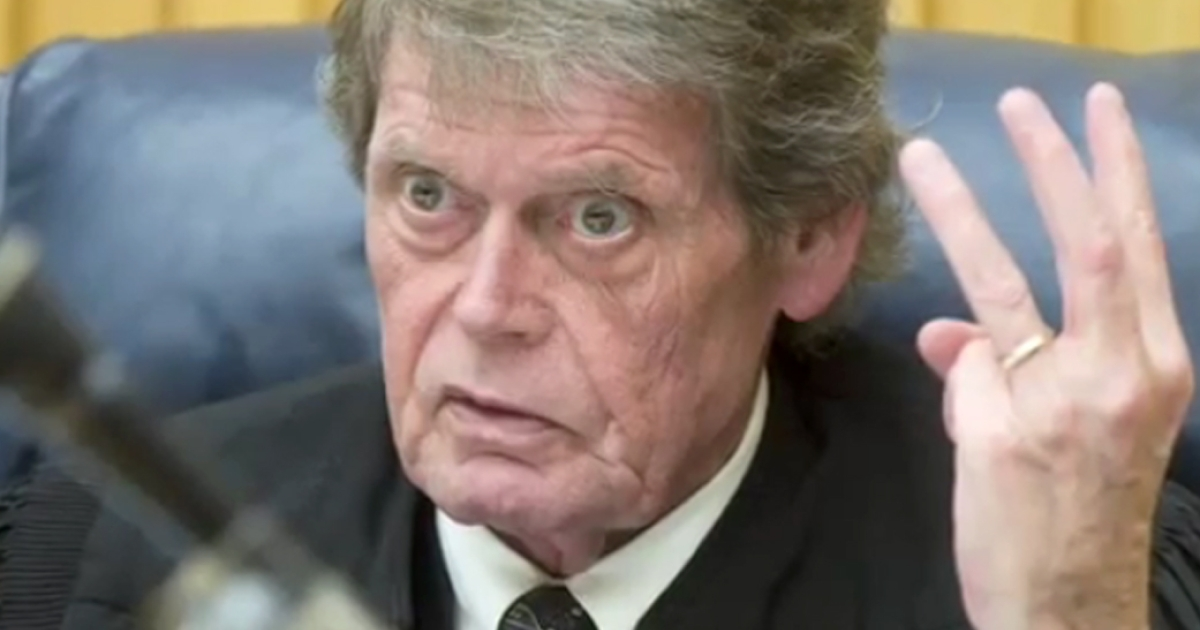 Judge Richard Baumgartner is seen in this still image taken from a YouTube video posted by The Knoxville News Sentinel in February, 2010.</p>