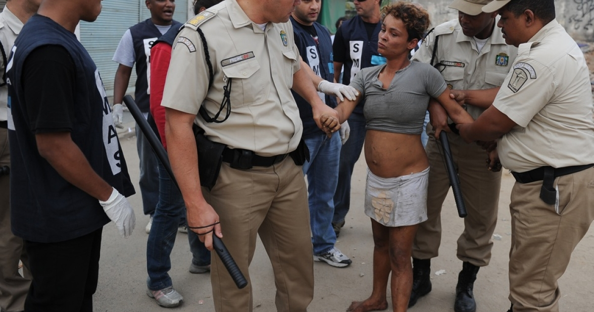 Security forces have swept through Rio's slums.</p>