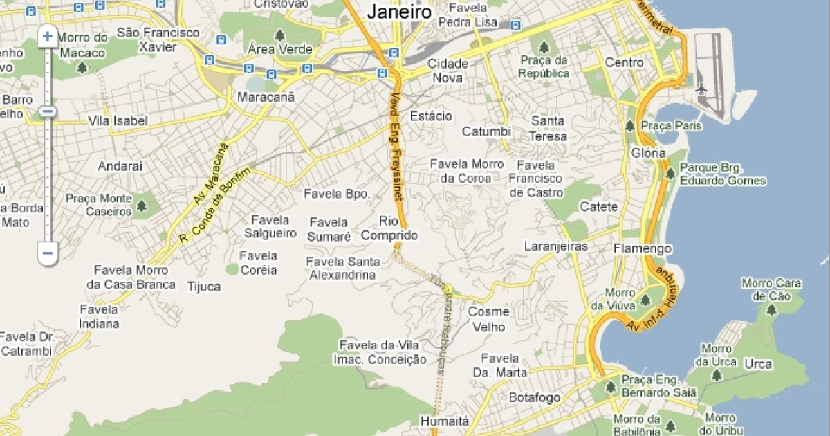 Google has agreed to change its Rio de Janeiro maps to de-emphasize shantytowns known as favelas.</p>