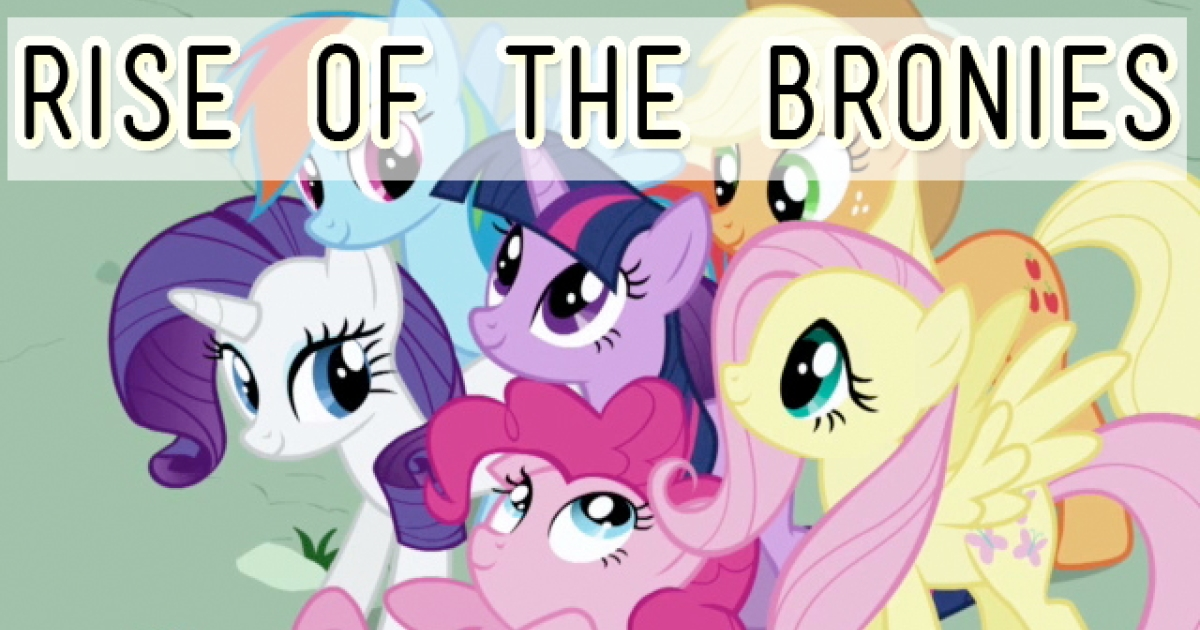 Grown-adults into My Little Pony: Friendship is Magic? Yeah, that's a thing. A multi-part GlobalPost series explores this very curious cultural phenomenon.</p>