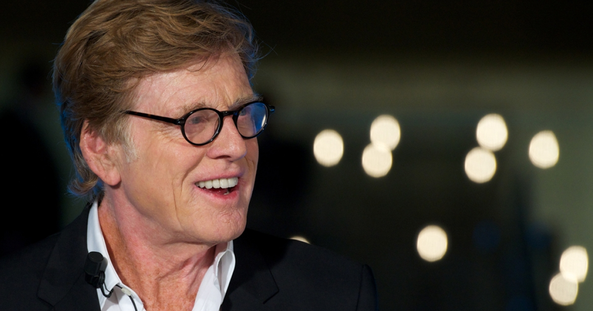 Robert Redford attends the Sundance Channel launch party at the Telefonica store on November 26, 2012, in Madrid, Spain.</p>