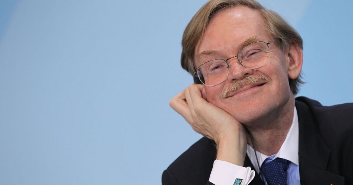 World Bank President Robert Zoellick, pictured on Oct. 6, 2011 in Berlin, Germany.</p>