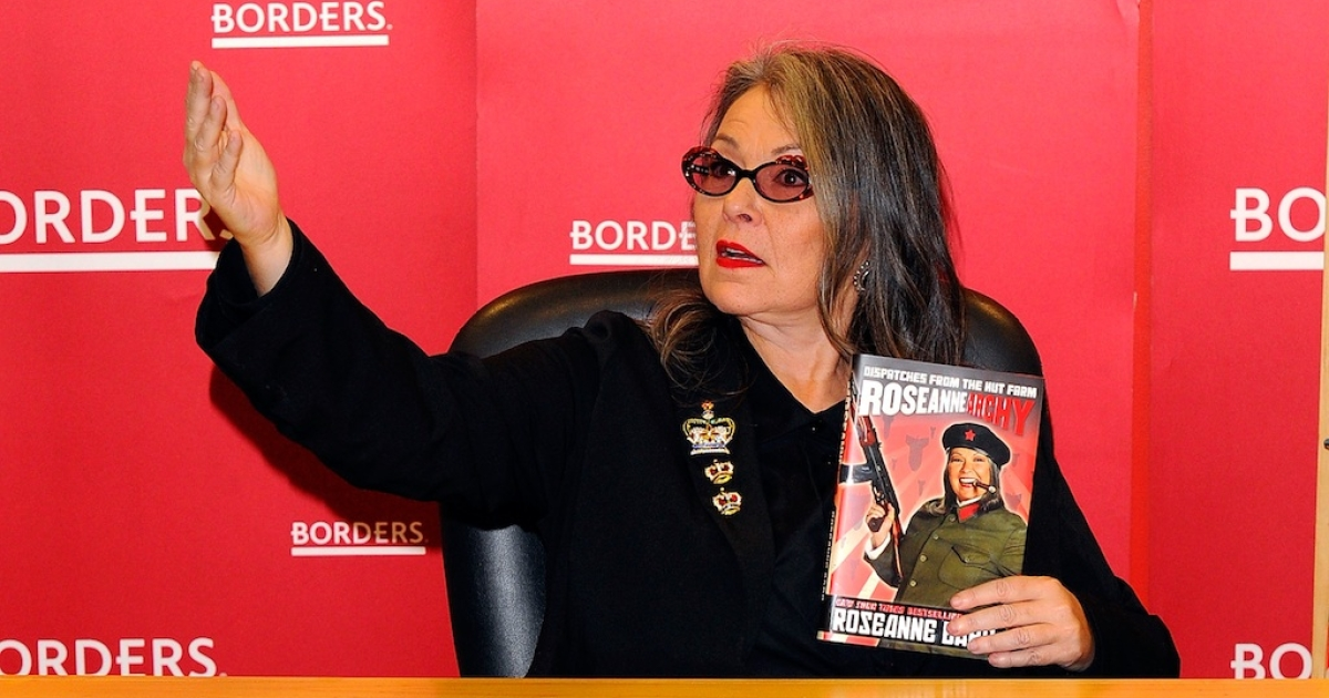 Roseanne Barr promotes her book 'Roseannearchy' at Borders Columbus Circle on January 6, 2011 in New York City.</p>
