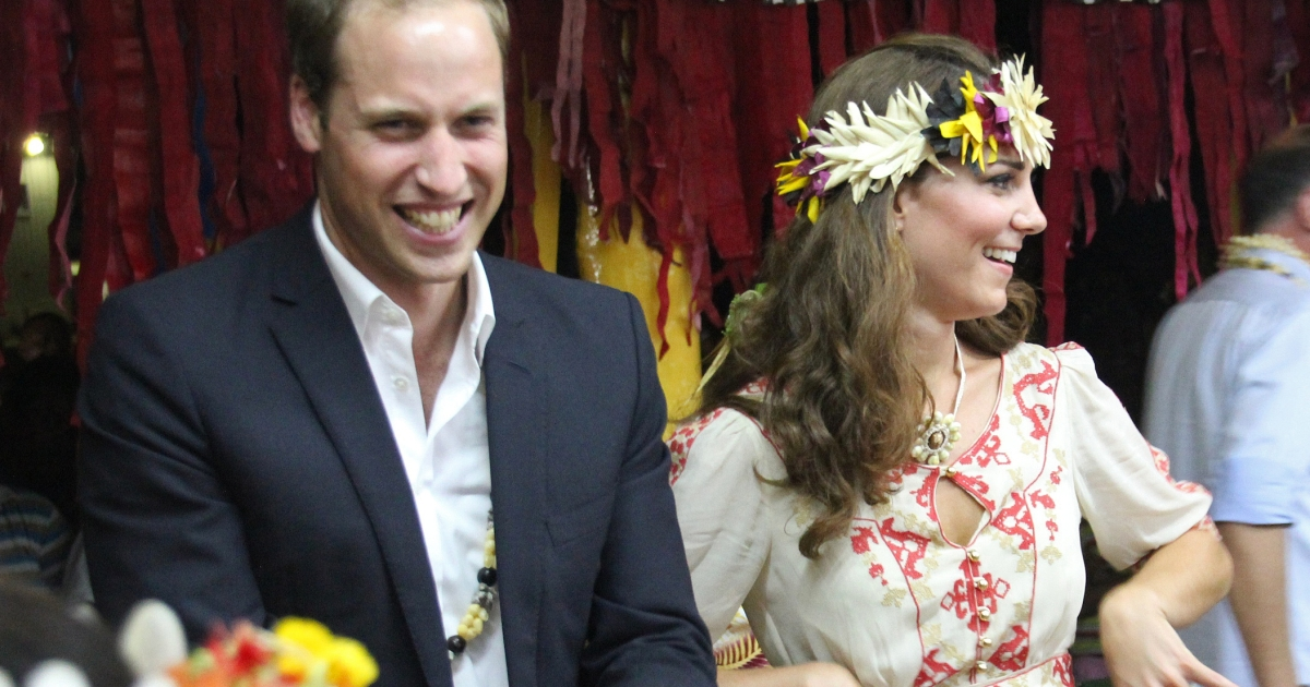 Prince William and Kate Middleton have tried to appear above the fray on a visit to the Solomon Islands this week while their lawyers were busy back home.</p>