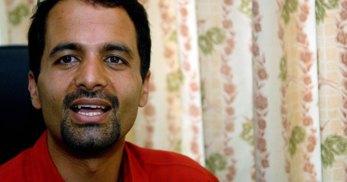 Nepal's first gay politician Sunil Babu Pant talks to an AFP correspondent during a interview in Kathmandu on May 1, 2008. Pant was selected to represent a small communist party in the constituent assembly, a party official said. Pant is the head of the Blue Diamond society, at the time the only gay rights group in Nepal, a largely Hindu, caste-dominated and conservative nation.</p>