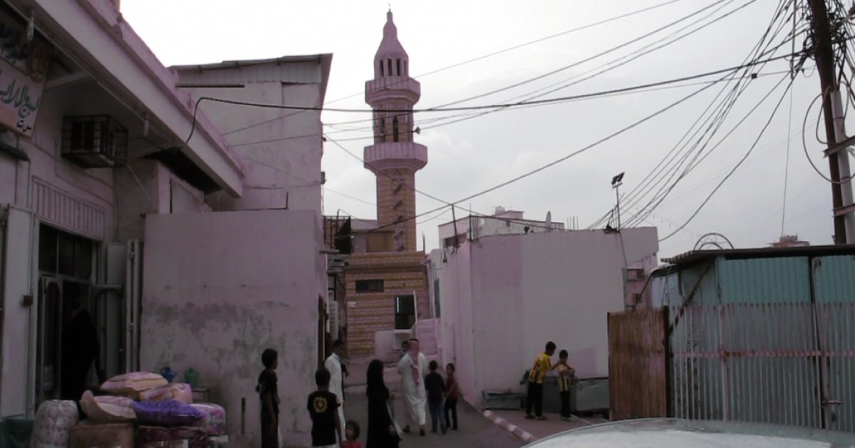 The village of Hezna, Saudi Arabia.</p>