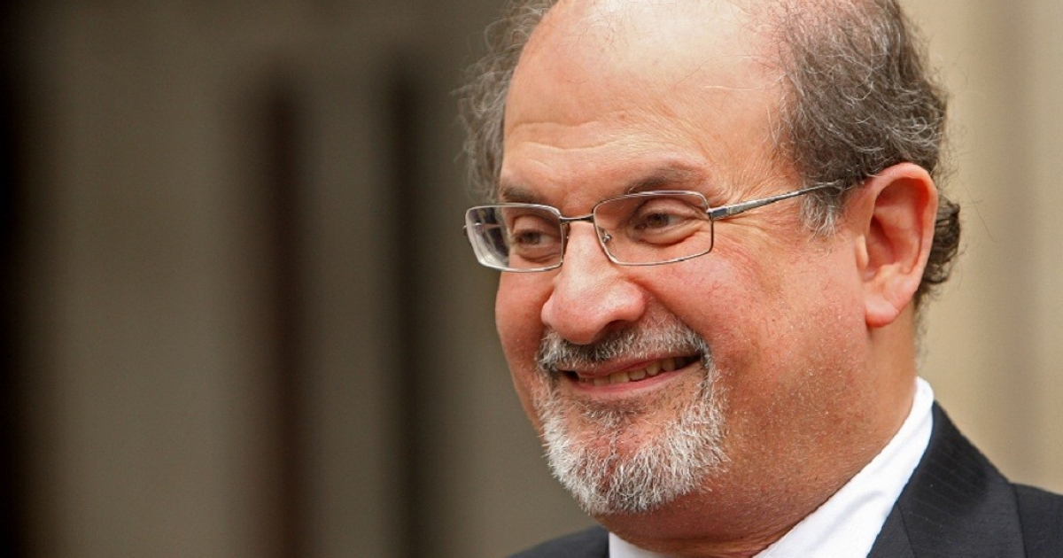 Indian-British novelist Salman Rushdie arrives at the High Court on August 26, 2008 in London, England. Salman Rushdie is suing John Blake Publishing Ltd over alegations against himself and his ex-wife in the memiors of Ron Evans, one of his former Special Branch bodyguards.</p>