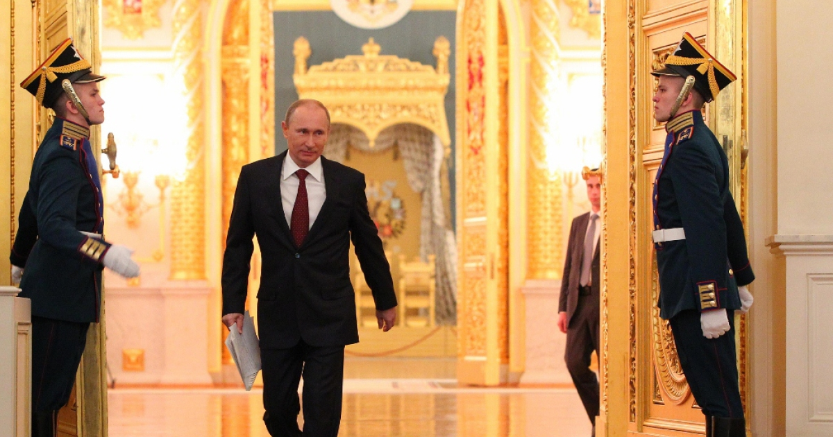 Investors hope Vladimir Putin's privatization scheme opens the door to foreign investment. Putin in the Kremlin Dec. 12, 2012 in Moscow.</p>
