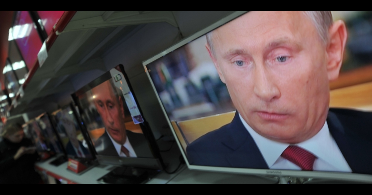 "Putin said one prominent independent radio station was ""pouring diarrhea"" all over him ""from morning to night.""</p>"