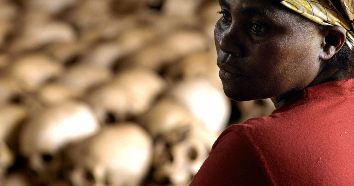 Hutu militias killed between 800,000 and one million Tutsis and moderate Hutus during the 1994 genocide in Rwanda.</p>