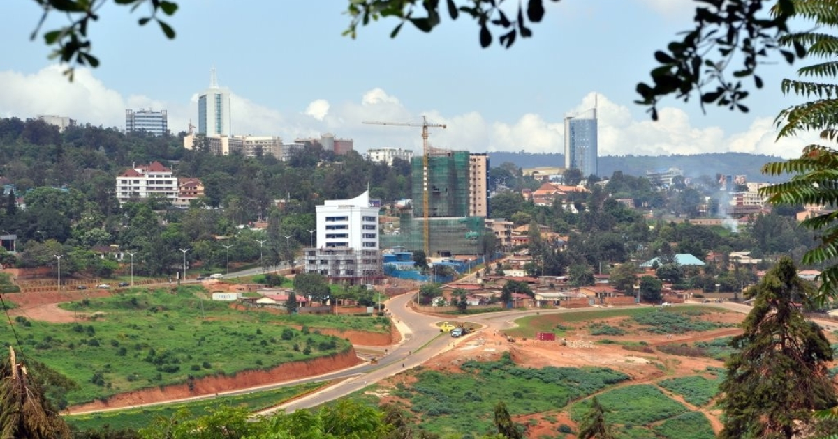 Kigali is developing rapidly and entire regions are under construction.</p>
