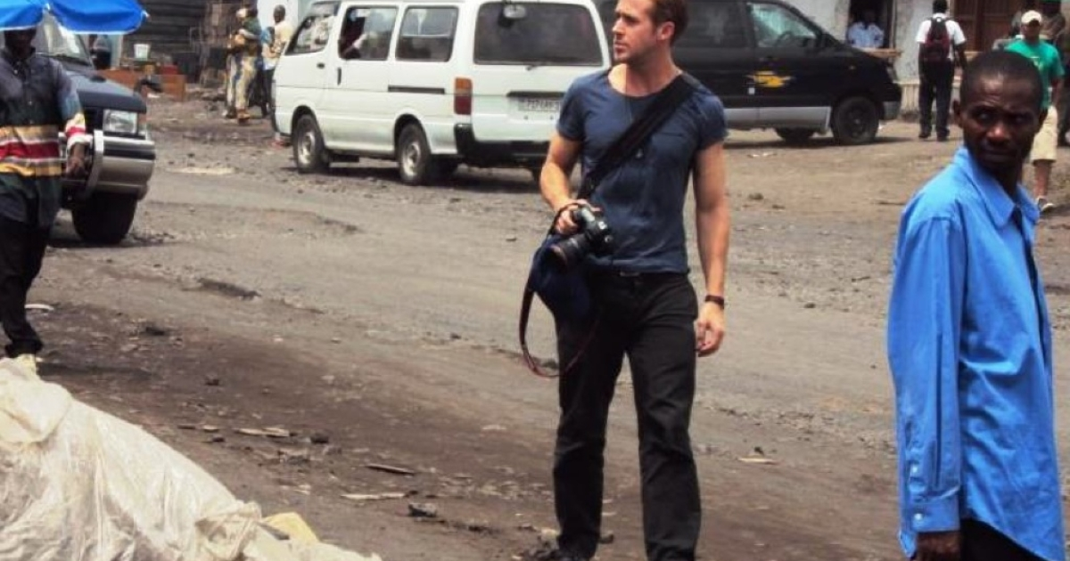 Ryan Gosling in the Democratic Republic of Congo</p>