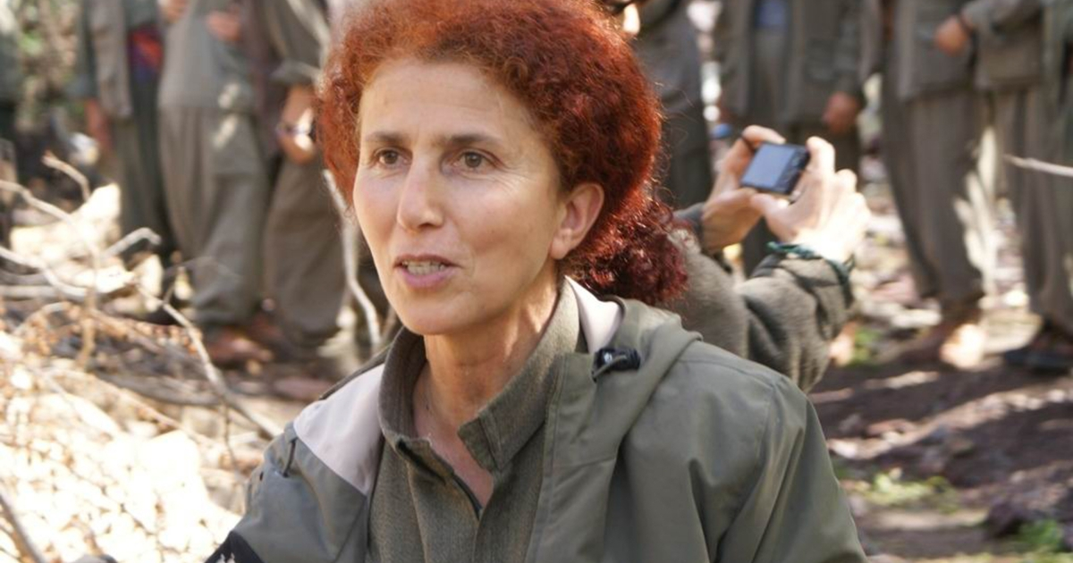 This undated picture shows Sakine Cansiz, a member of the outlawed Kurdistan Worker's Party (PKK). Sakine Cansiz was one of the three Kurdish women who were shot dead overnight on Jan. 10, 2013 in Paris, in what France's interior minister dubbed an 'assassination.'</p>