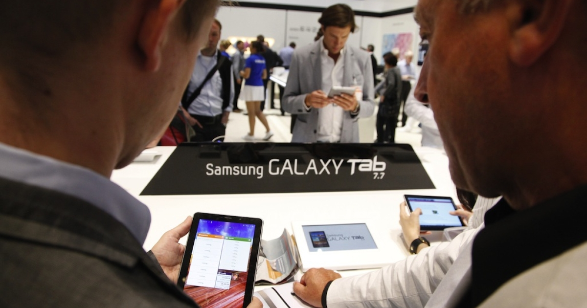 Samsung's Galaxy tablet 'not as cool' as Apple's iPad.</p>