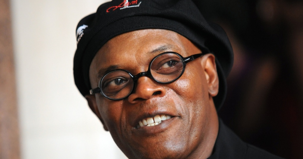 "Samuel L. Jackson made a profanity-laced video urging voters to go to the polls for Obama, telling them to ""wake the f--- up!""</p>"