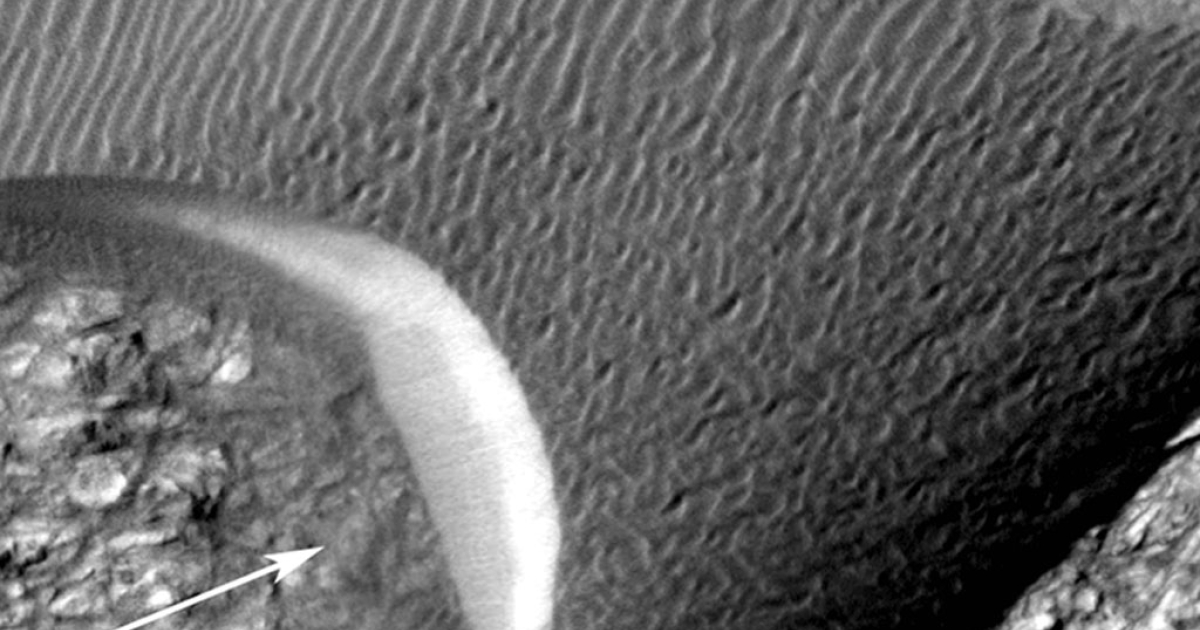 Images of shifting sand dunes on Mars prove they're speedier than once thought.</p>