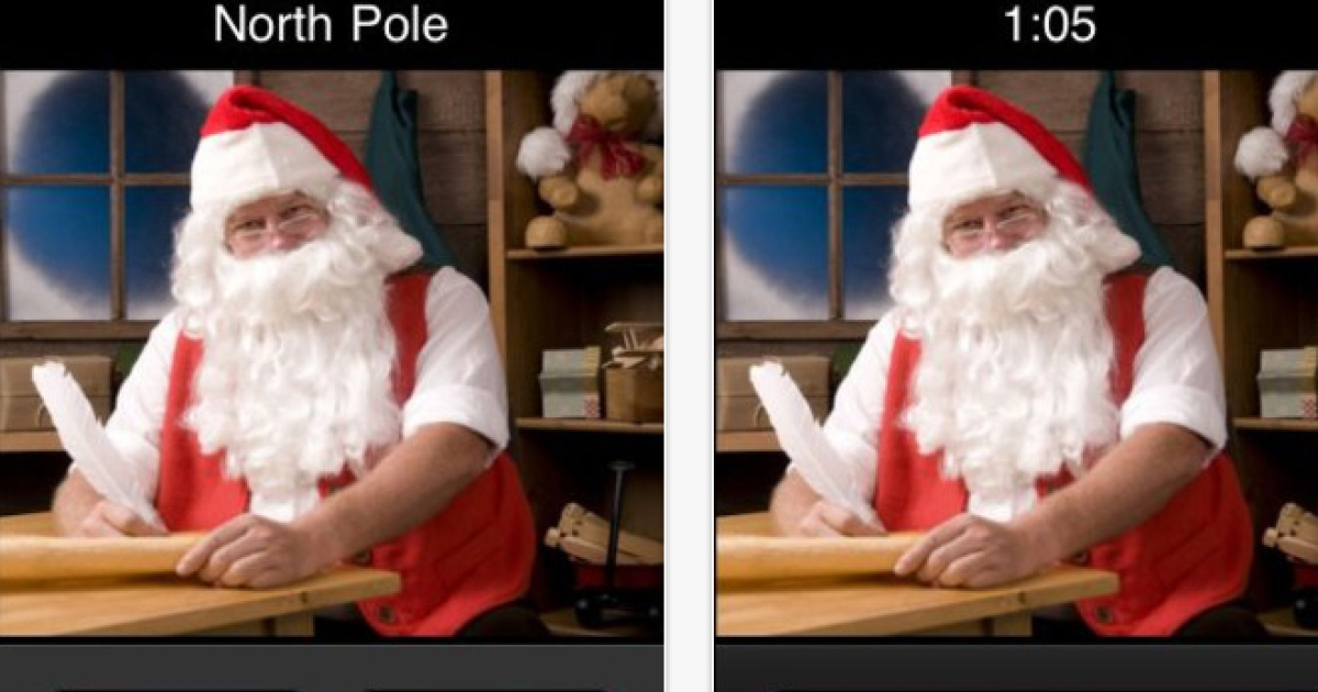 Smart phone apps now allow parents to call their kids posing as Santa in order to discipline them.</p>