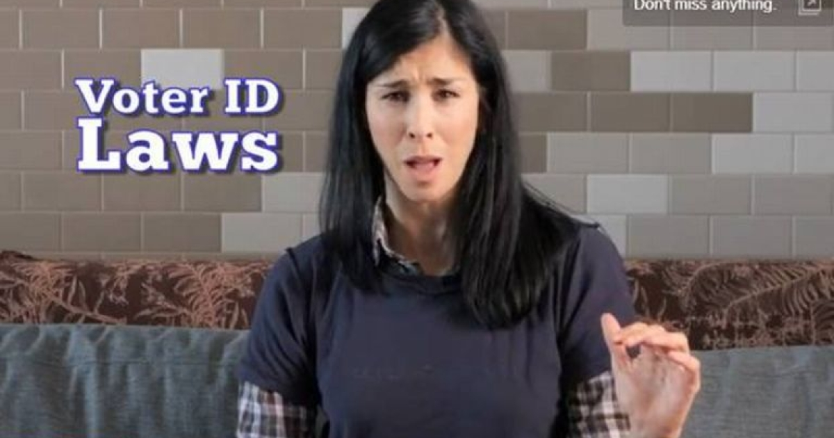 Voter ID laws aim to prevent in-person voter fraud. In person voter fraud basically never happens. So why are so many states passing these laws?</p>