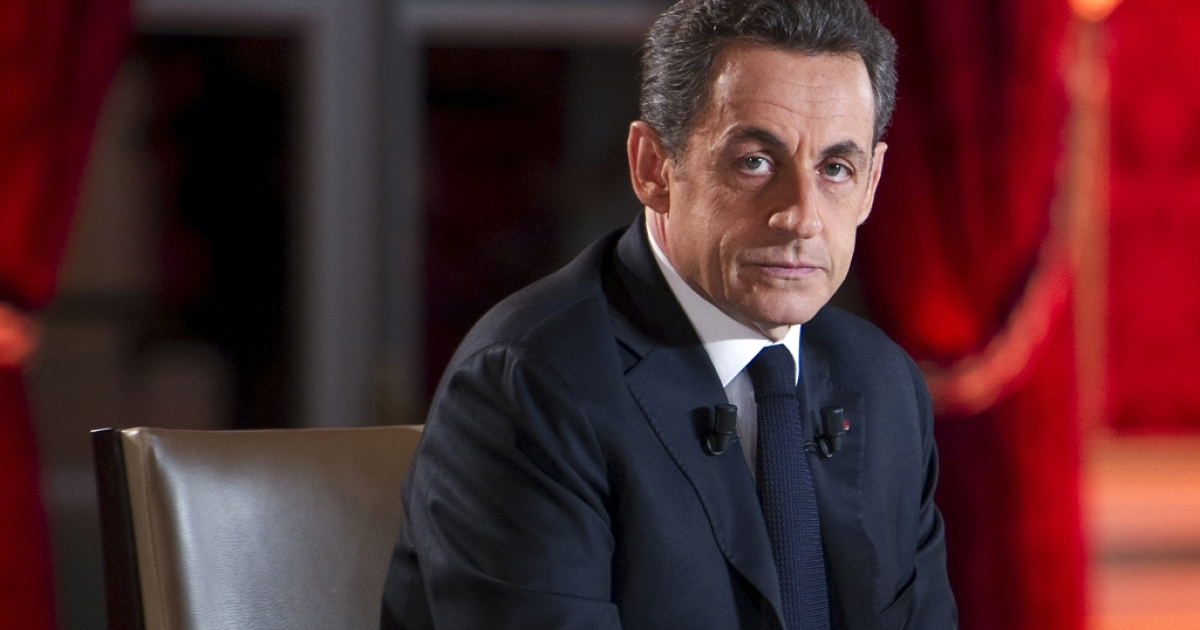Serious times deserve a serious face. French President Nicolas Sarkozy before a television interview last night in which he confirmed France would go it alone and impose a Tobin Tax on financial transactions.</p>