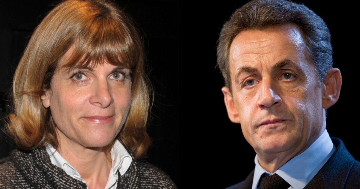 This combination of pictures created from AFP file images on Jan 17 shows French nuclear group Areva's former chief executive Anne Lauvergeon, left, and French President Nicolas Sarkozy.</p>