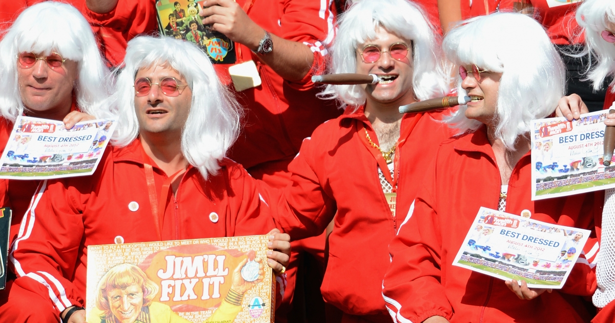Jimmy Savile impersonators. The BBC presenter exerted a huge influence over the British public.</p>