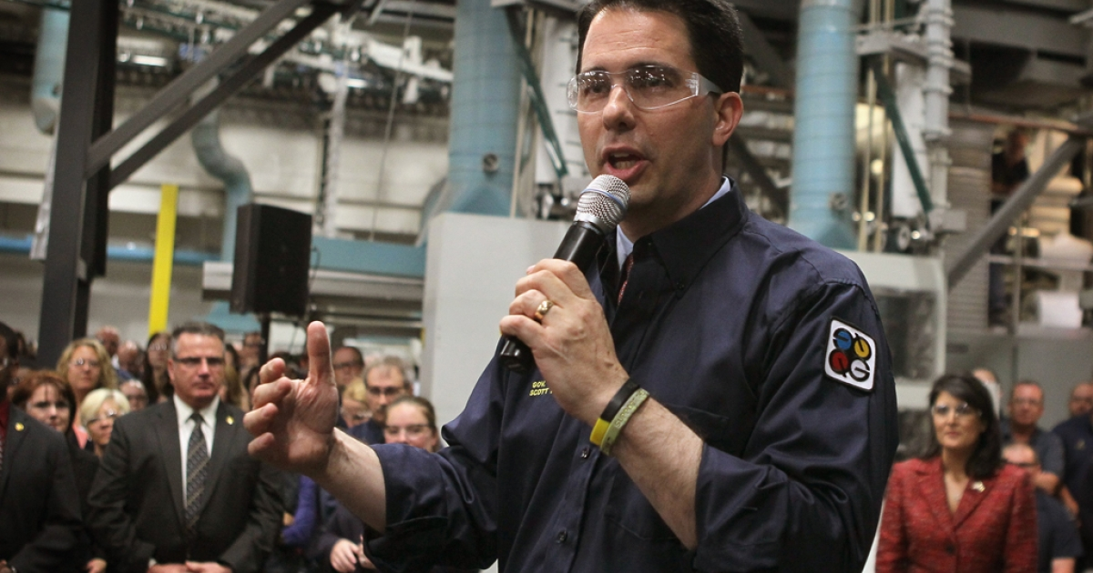Wisconsin Governor Scott Walker won the recall election in his state on June 5, 2012, but exit polls showed 17 percent of those who voted for Walker would have voted for President Obama.</p>