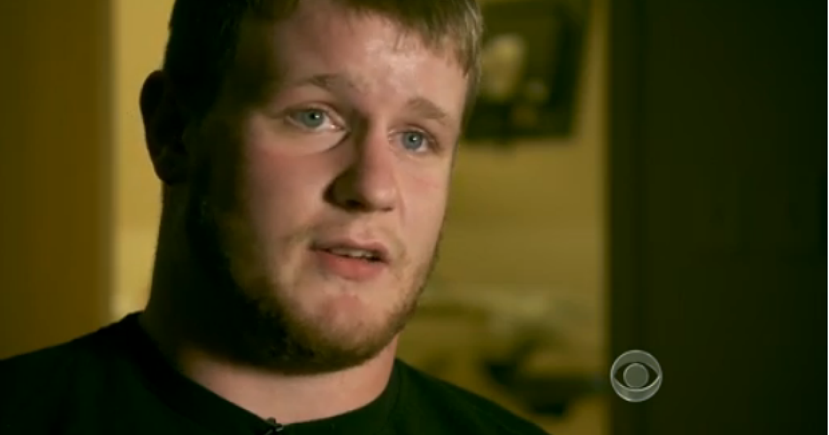 Caleb Medley's brother Seth speaks about his brother's progress in the intensive care unit. Caleb was shot in the eye during the Aurora massacre.</p>