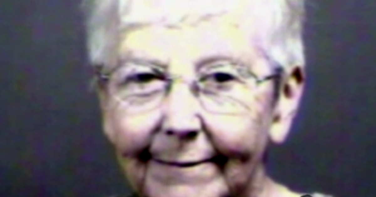 Sister Mary Rice, seen here in this screenshot from ABC News, reportedly breached security at a US nuclear facility.</p>