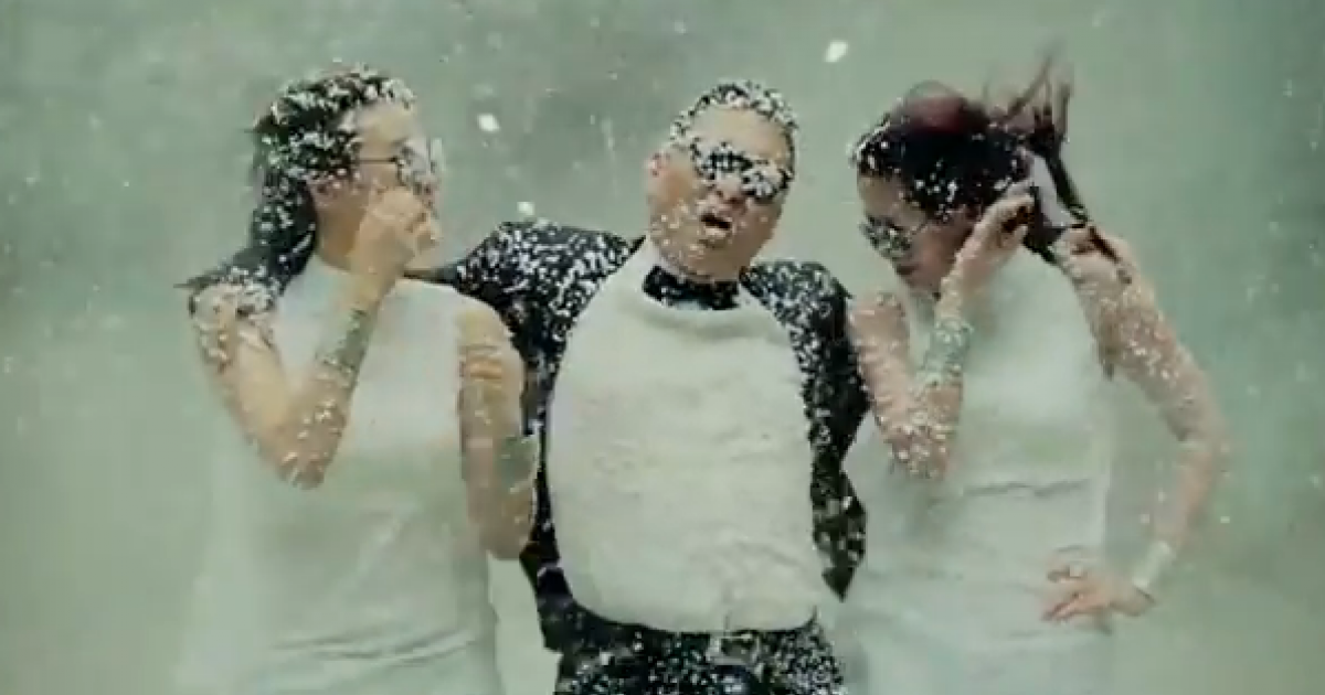South Korean rapper PSY has a hit on his hands.</p>