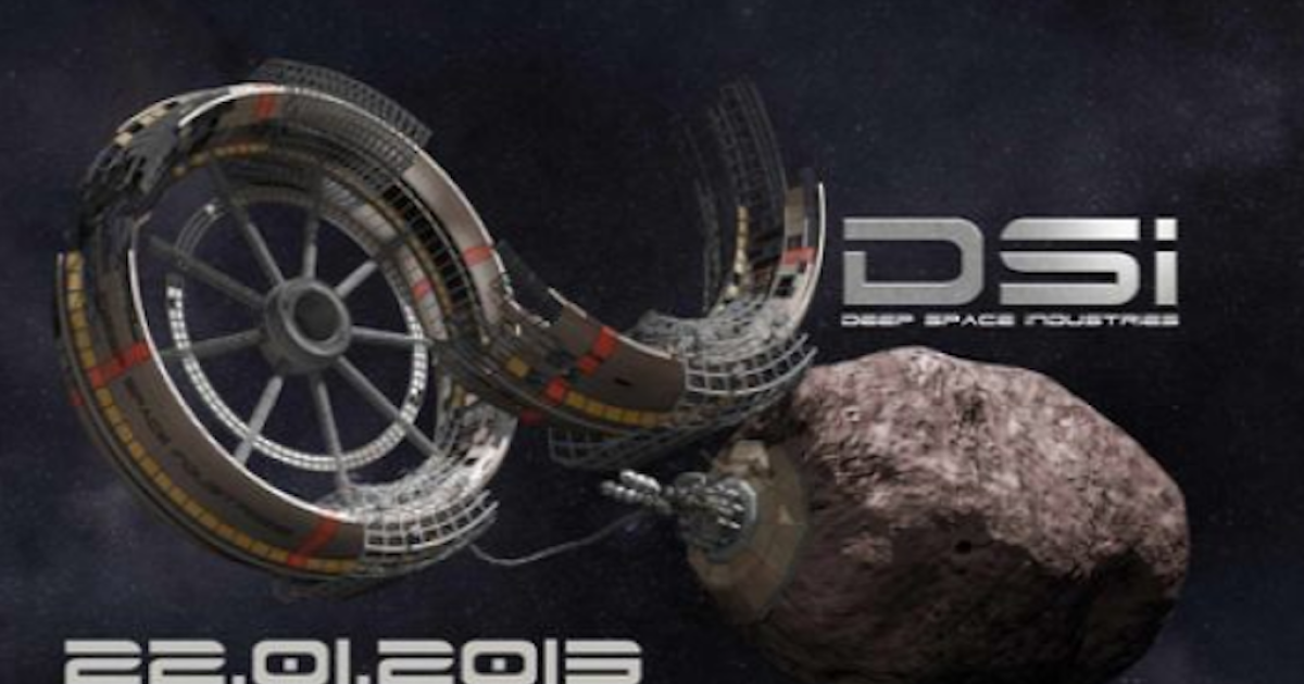A screenshot of a teaser photo from Deep Space Industries website.</p>