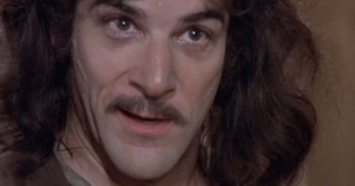 Mandy Patinkin as Inigo Montoya in a scene from