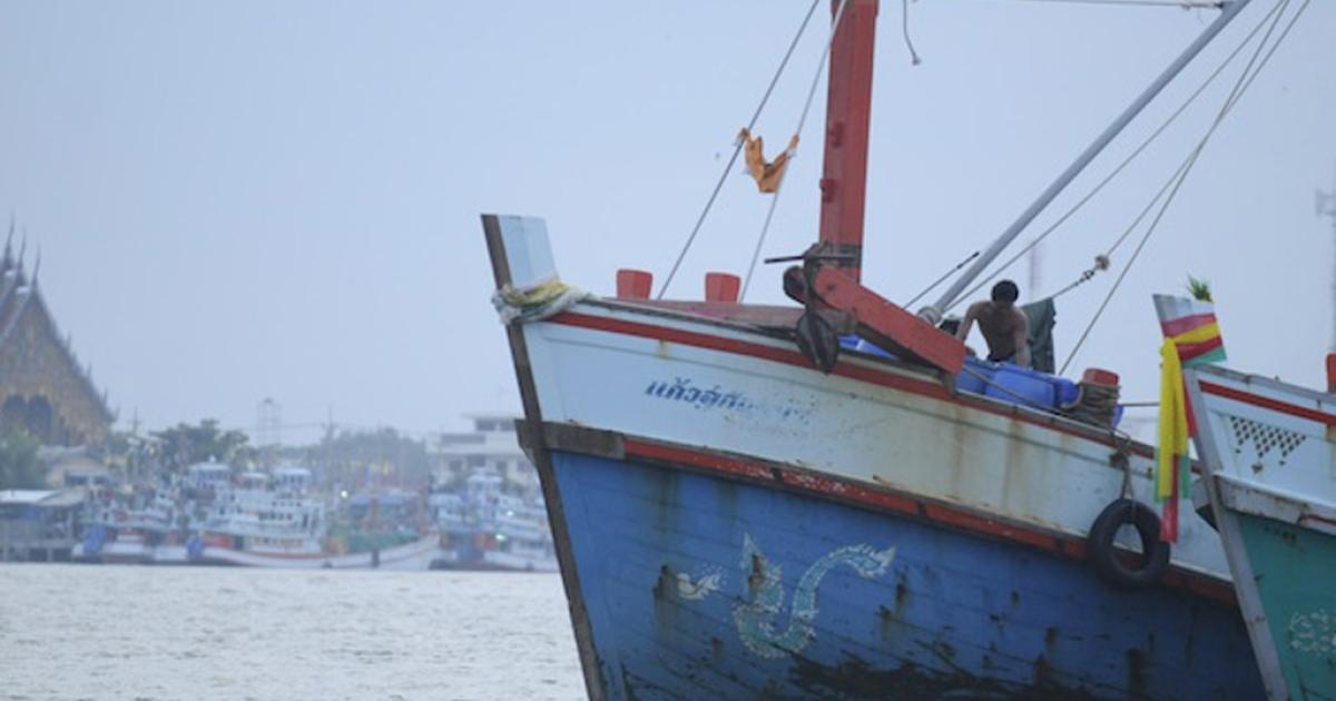 Trawler.</p>