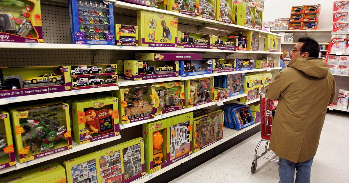 Anonymous Secret Santas across the country are paying off Kmart layaway accounts that have toys and children's clothing.</p>