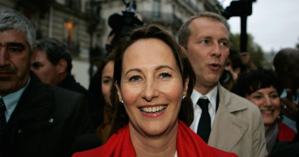 Segolene Royal her headquarters in Paris Oct. 9, 2011 2011 in Paris, France.</p>