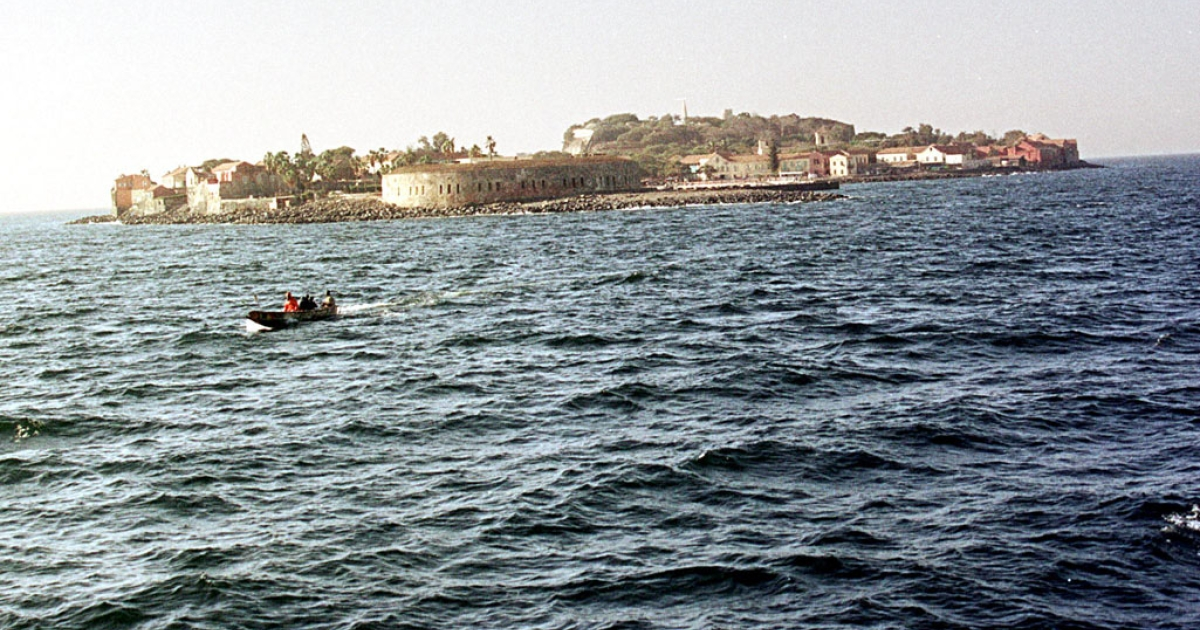 A picture dated 23 January 2001 shows the island of Goree, off the coast of Dakar, a place of pilgrimage for thousands of tourists, since becoming known as one of the chief bases of the trade in slaves between West Africa and the European colonies in the Americas in the 17th 18th and 19th centuries.</p>